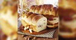 Panaderías Pastelerías Recetas a domicilios.com Brioche con requesón, avellanas y canela