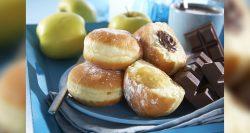 Panaderías Pastelerías Recetas a domicilios.com Buñuelos de manzana (o plátano)