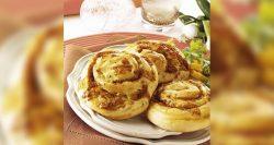 Panaderías Pastelerías Recetas a domicilios.com Caracoles al cheddar