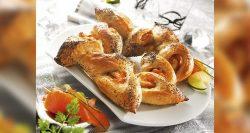 Panaderías Pastelerías Recetas a domicilios.com Corona de salmón ahumado