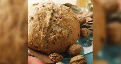 Panaderías Pastelerías Recetas a domicilios.com Pan de campaña con nueces
