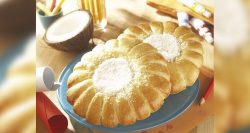 Panaderías Pastelerías Recetas a domicilios.com Sol de miel y coco