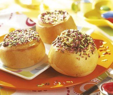 Panaderías a domicilios.com Pan Rollos de chocolate